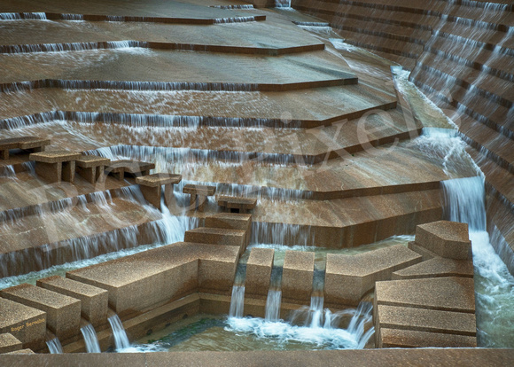 Ft Worth's Water Gardens